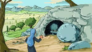 La résurrection de Jésus - Jn 20, 1- 9 - catéchèse enfants - Théobule